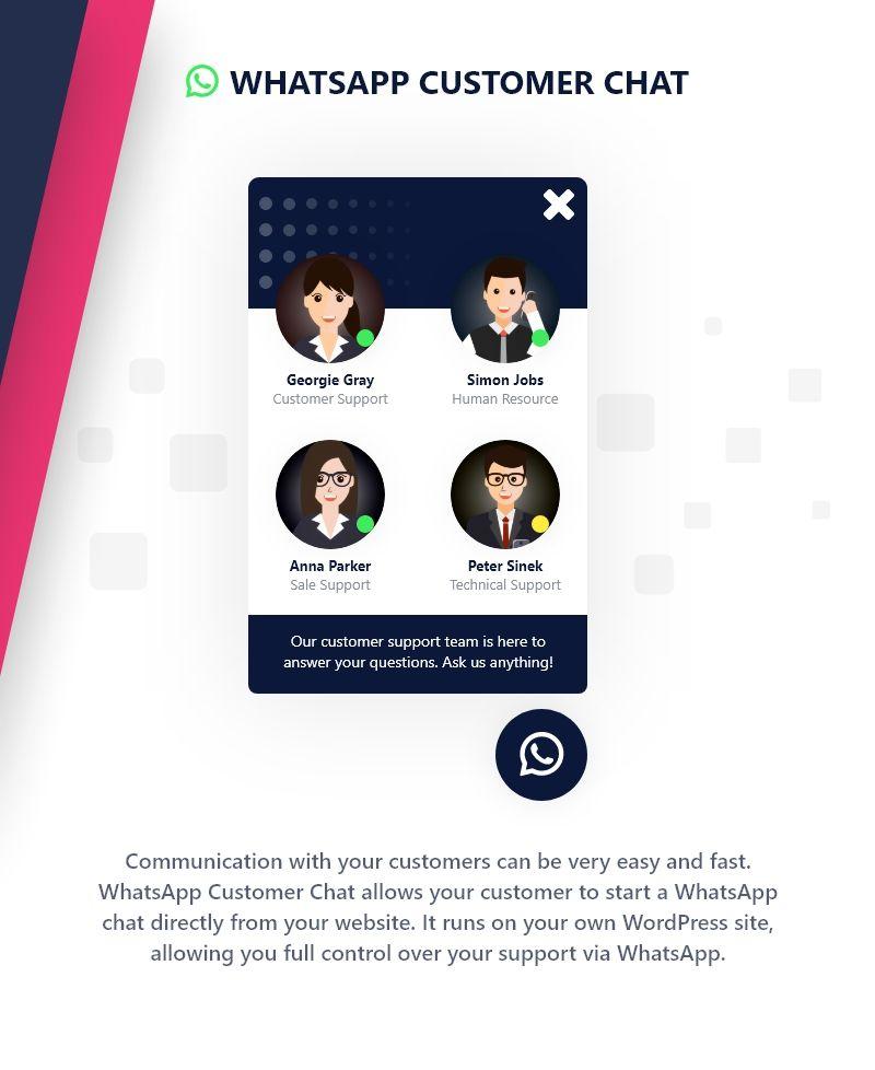 WhatsApp Customer Chat - 1