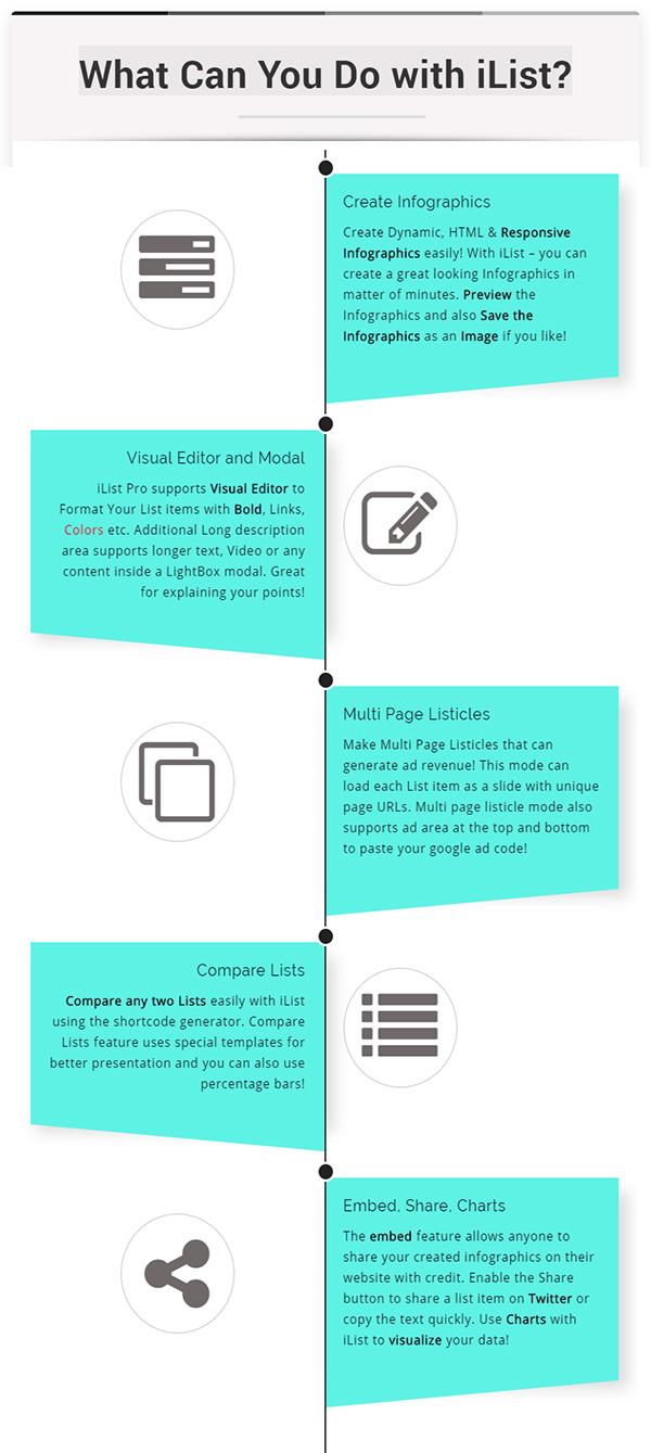 Infographic Maker - iList Pro - 2