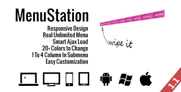 MenuStation Unlimited Responsive Menu
