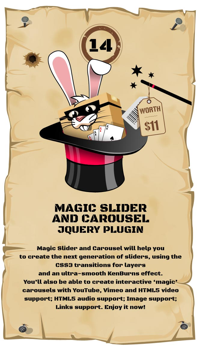 Magic Responsive Slider and Carousel Responsive Plugin
