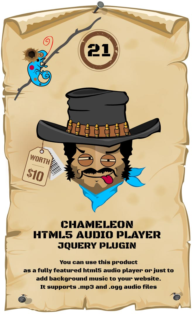 HTML5 Audio Player Responsive Plugin