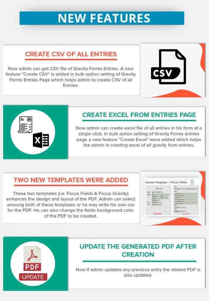 WordPress Gravity Forms PDF, Excel, CSV & Google Sheet - 5