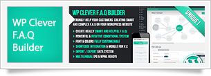 WP Clever FAQ Builder - Smart support tool for WordPress - 9
