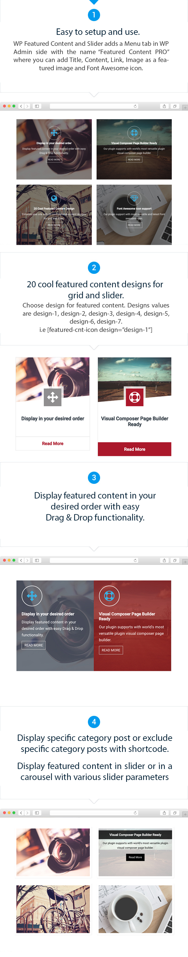 Featured Content and Slider
