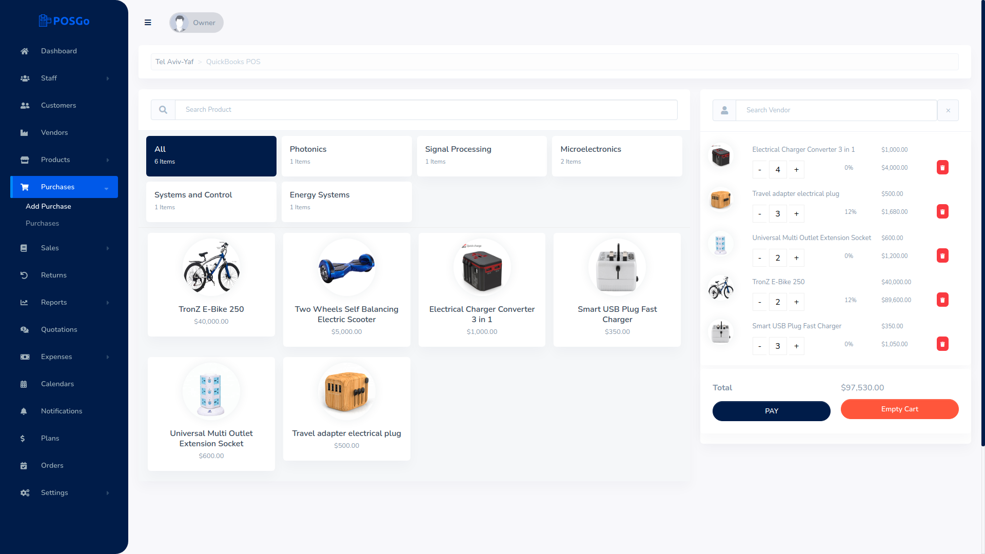 POSGo SaaS - Purchase and Sales Management Tool - 5