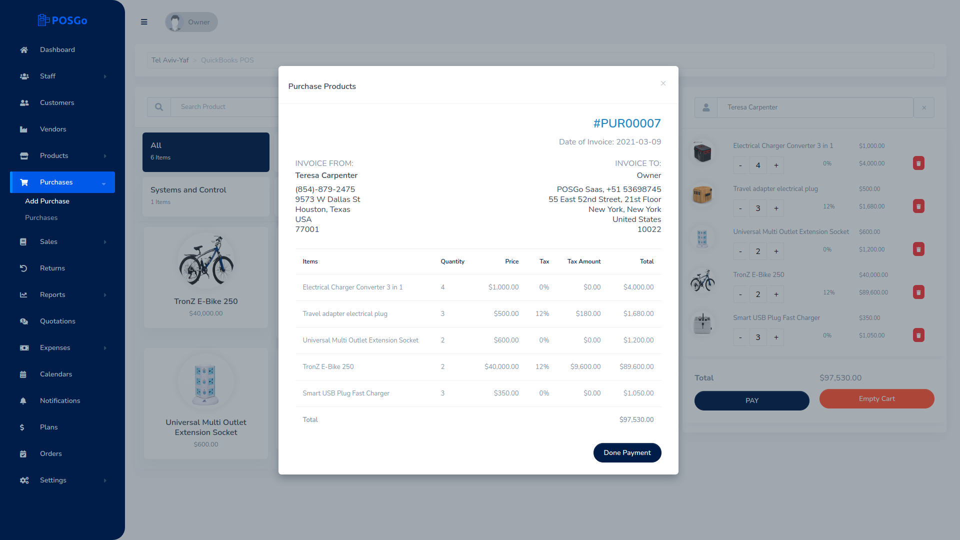 POSGo SaaS - Purchase and Sales Management Tool - 6