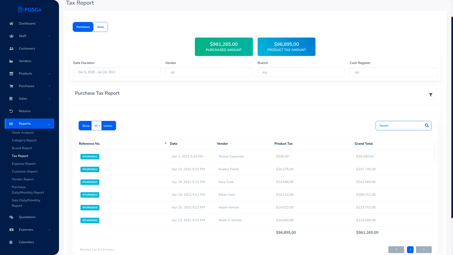 POSGo SaaS - Purchase and Sales Management Tool - 7