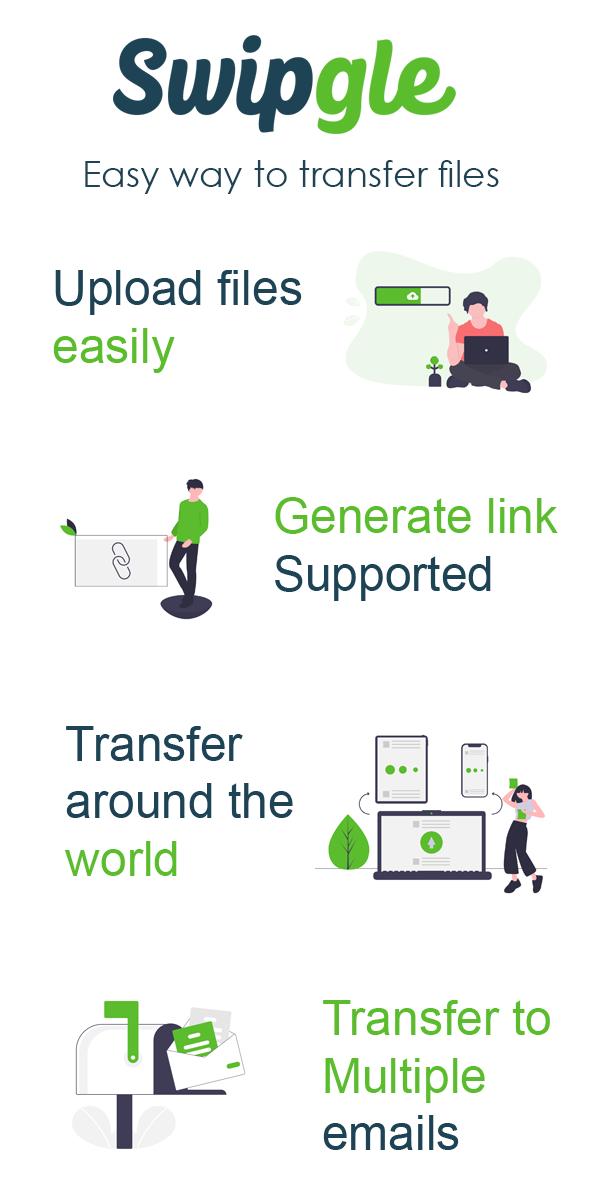 Swipgle - Easy File Transfer SaaS - 3