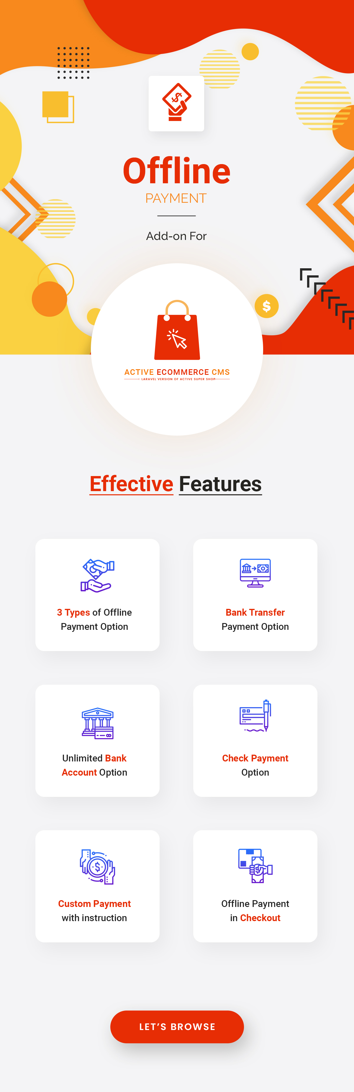 Active eCommerce Offline Payment Add-on - 1