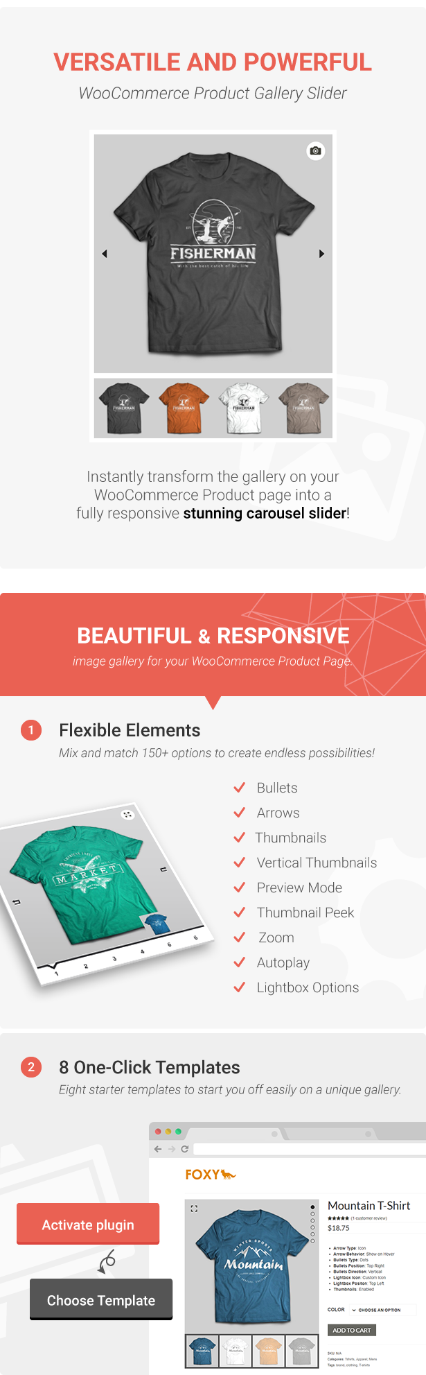 Foxy - WooCommerce Product Image Gallery Slider Carousel - 3