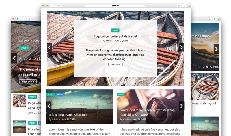 Responsive Recent Post Slider Pro plugin for WordPress - 2