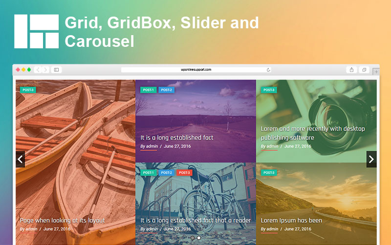Blog Designer - Post and Widget Pro - 6