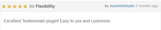 AP Custom Testimononial Customer Feedback