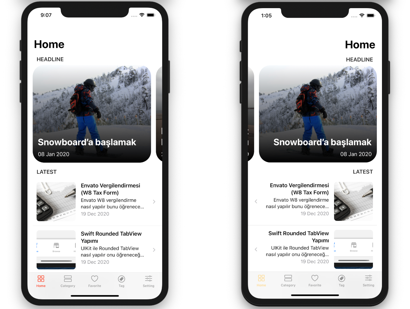 SwiftUI iOS WordPress App for Blog and News Site with AdMob, Firebase Push Notification and Widget - 14