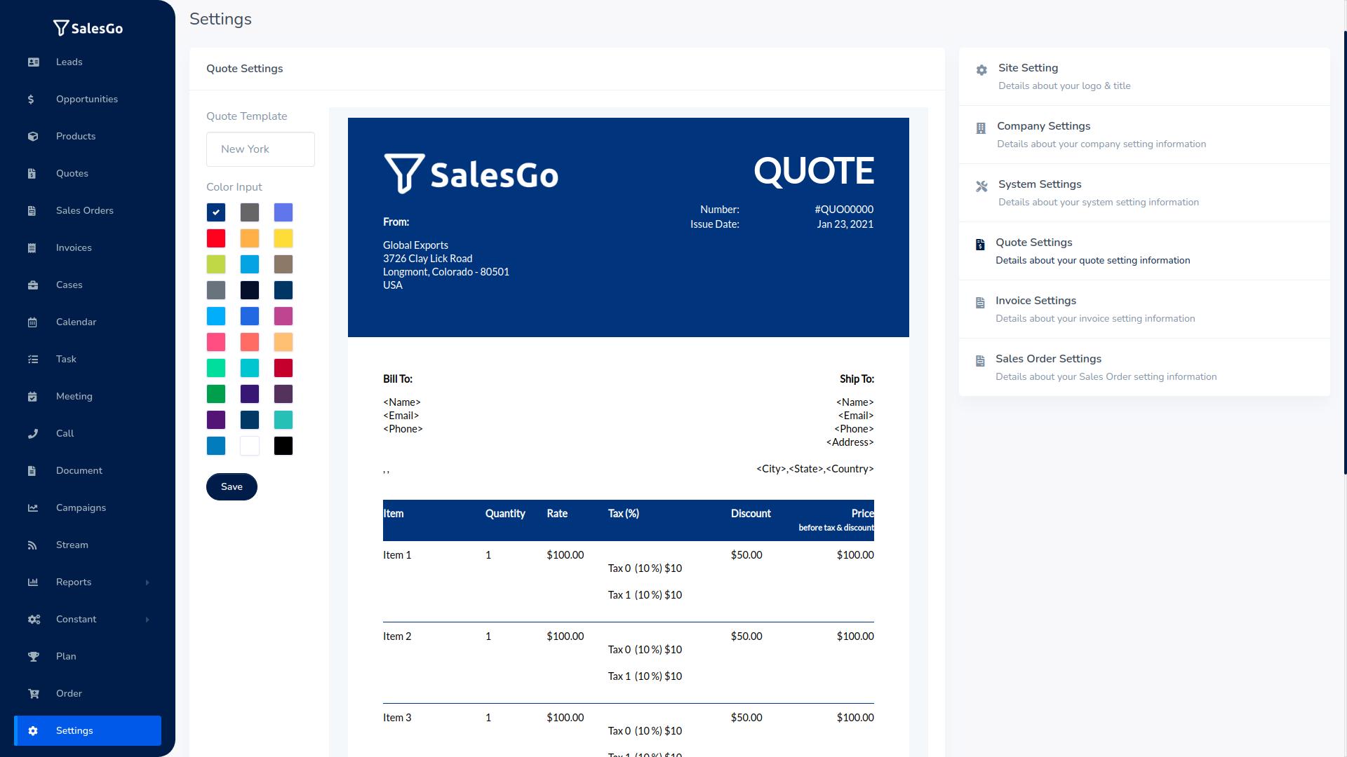 SalesGo SaaS - Business Sales CRM - 16