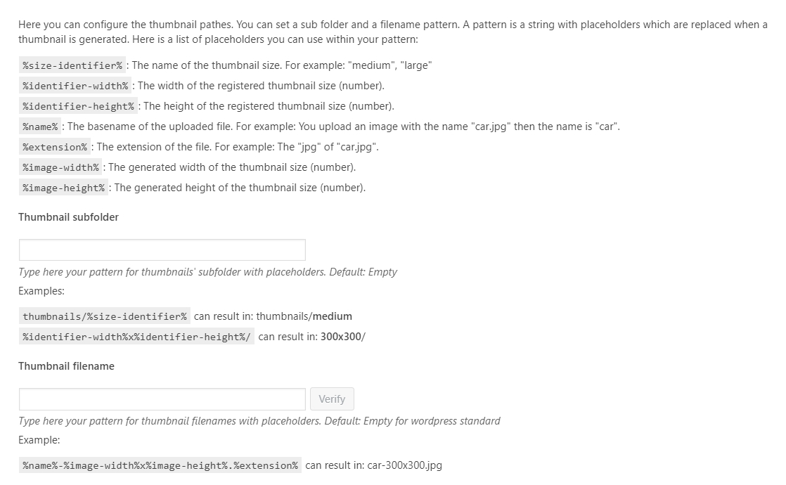 WordPress Real Thumbnail Generator - Bulk Regenerate Thumbnails / Upload folder - 13