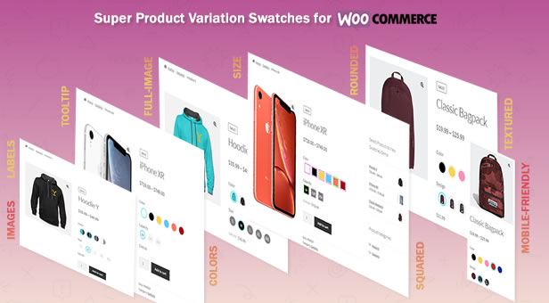 Create Color, Label and Image Swatches using Super Product Variation Swatches for WooCommerce
