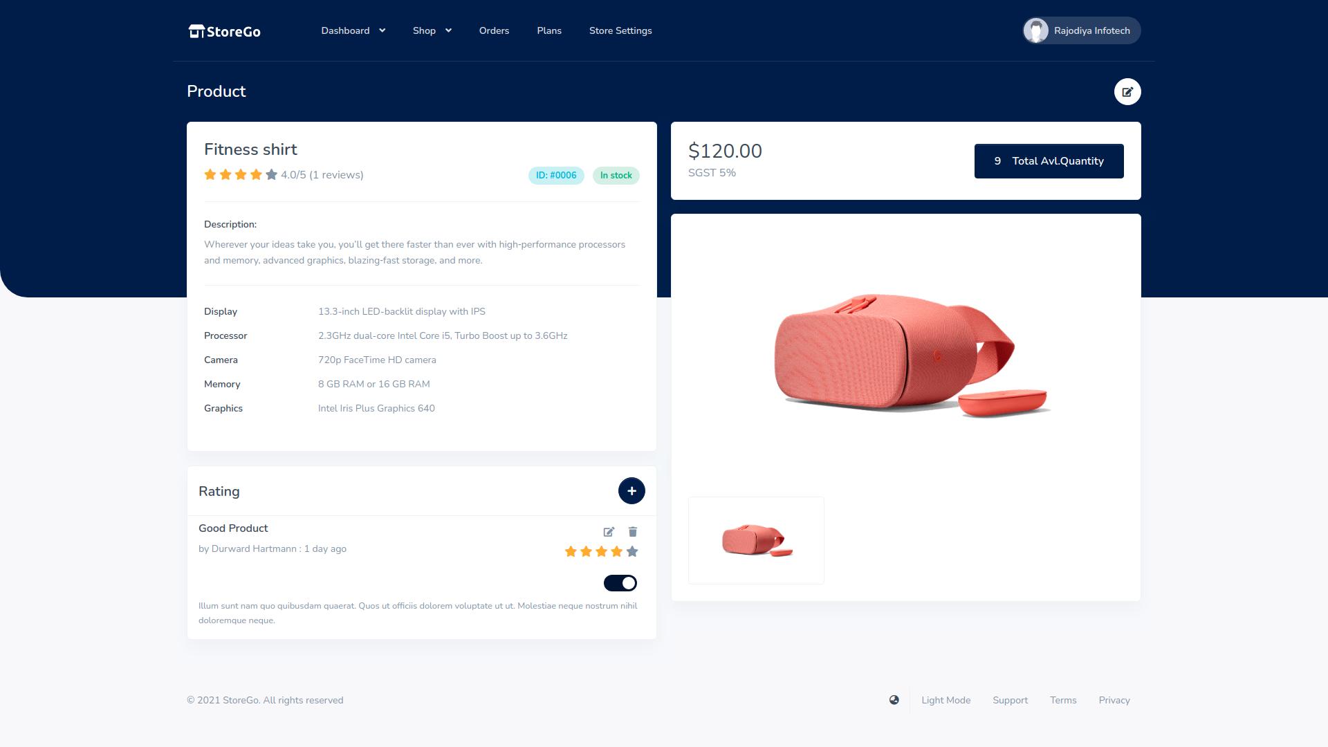 StoreGo SaaS - Online Store Builder - 6
