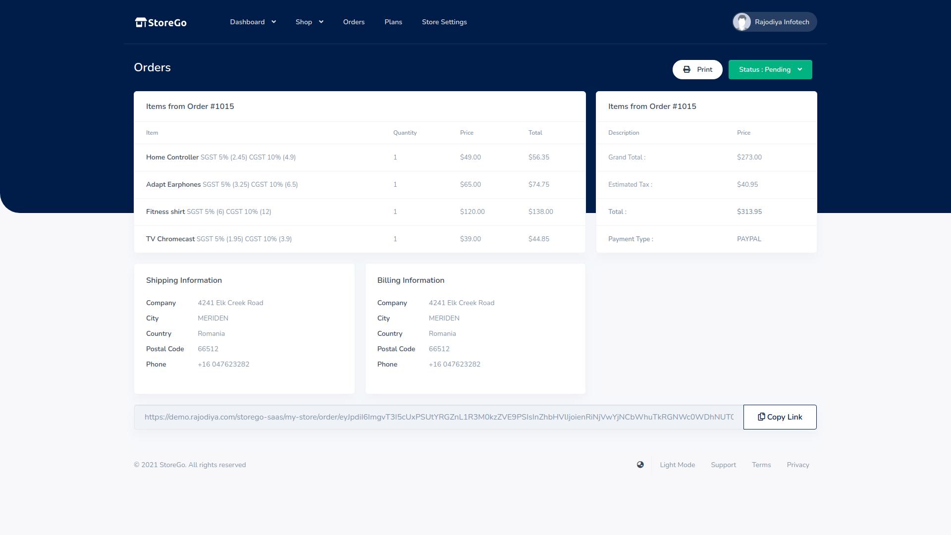 StoreGo SaaS - Online Store Builder - 7