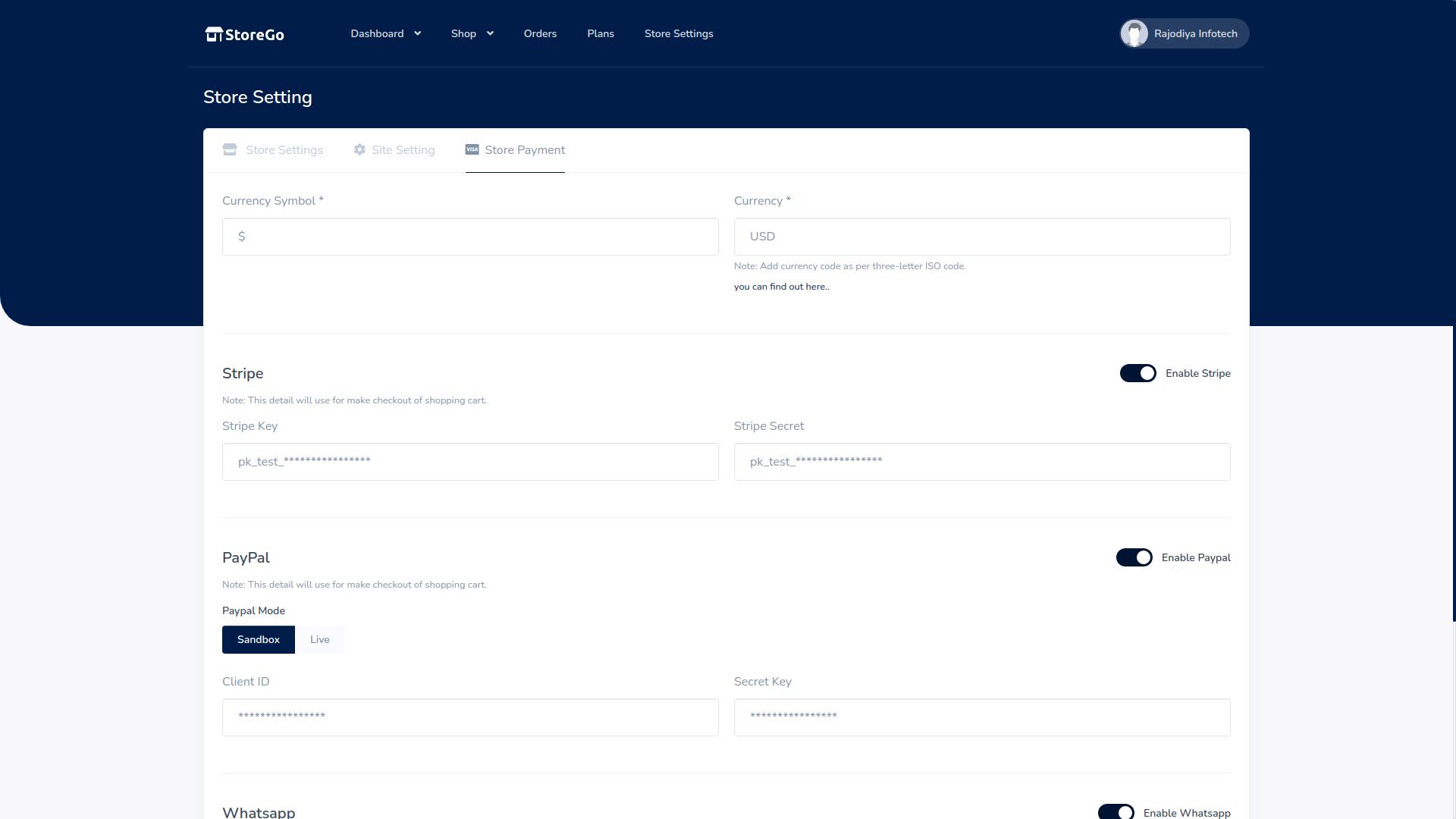 StoreGo SaaS - Online Store Builder - 9
