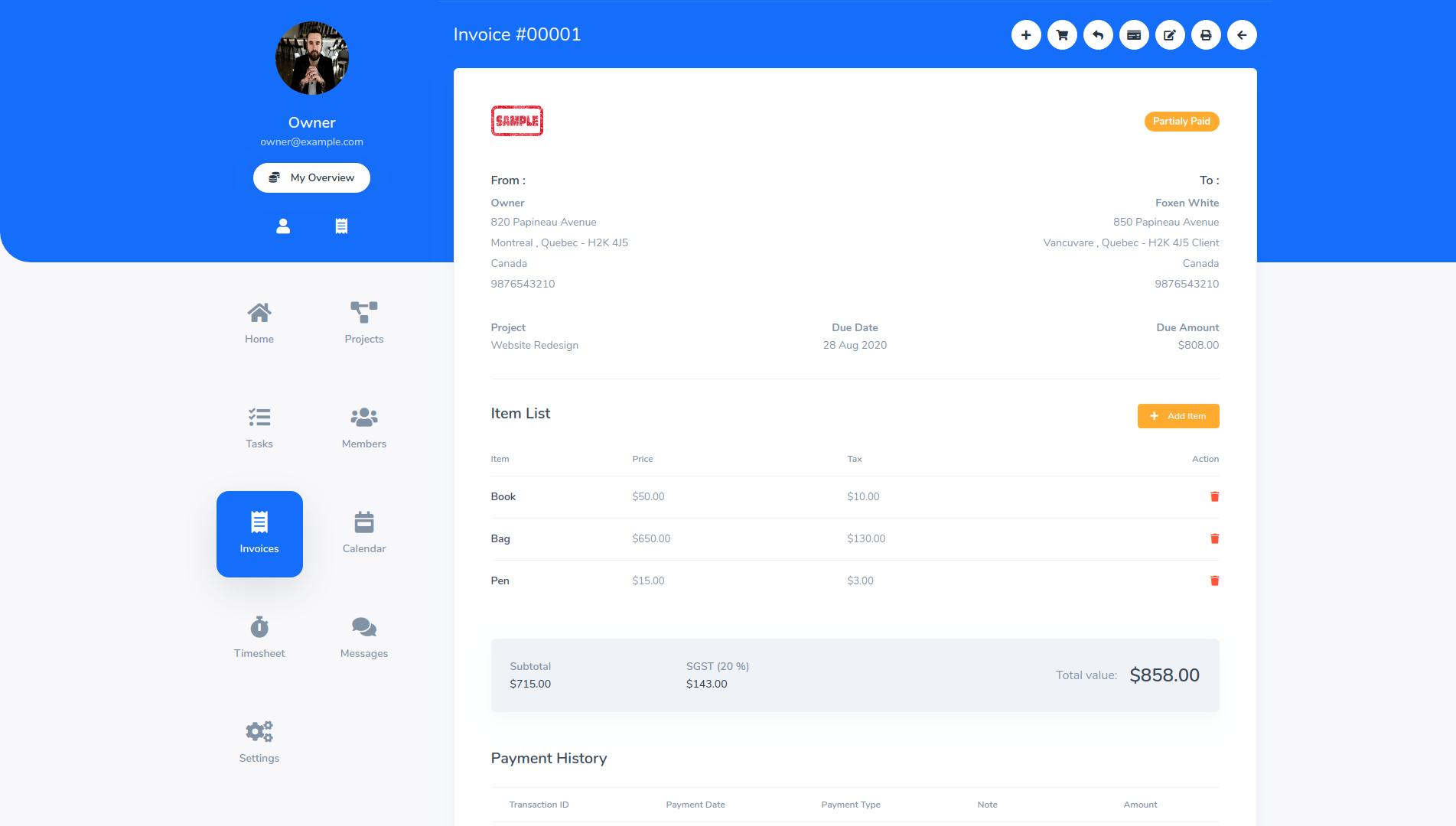 TaskGo SaaS – Tasks Management Tool - 7