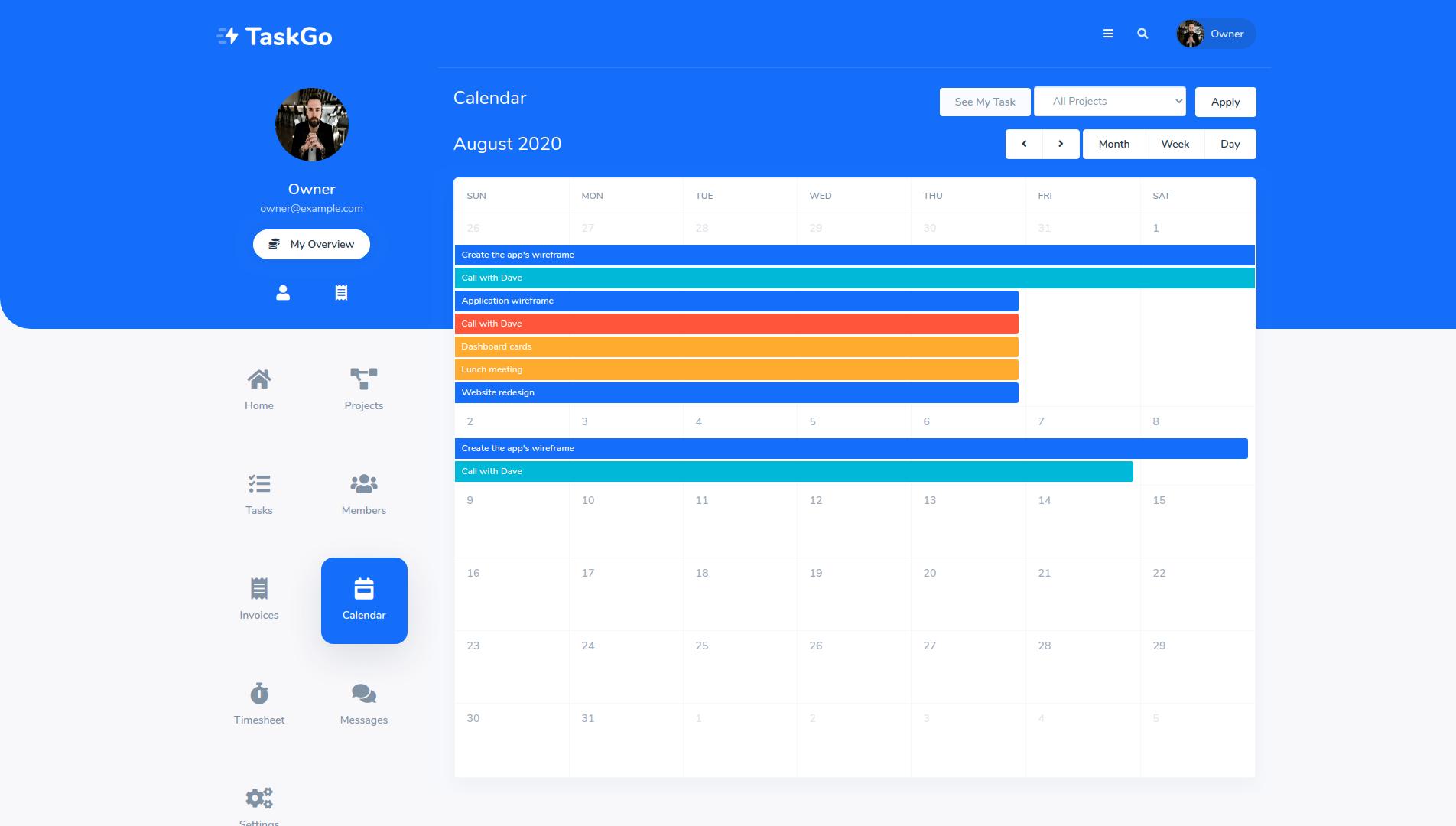 TaskGo SaaS – Tasks Management Tool - 8
