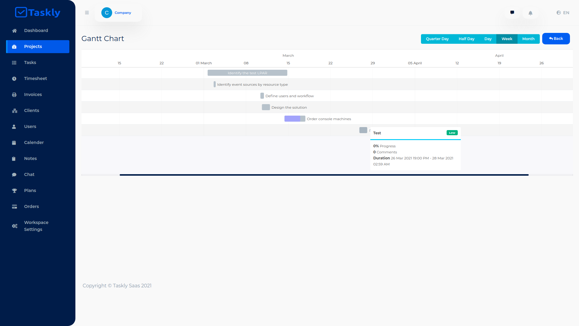 TASKLY SaaS – Project Management Tool - 15