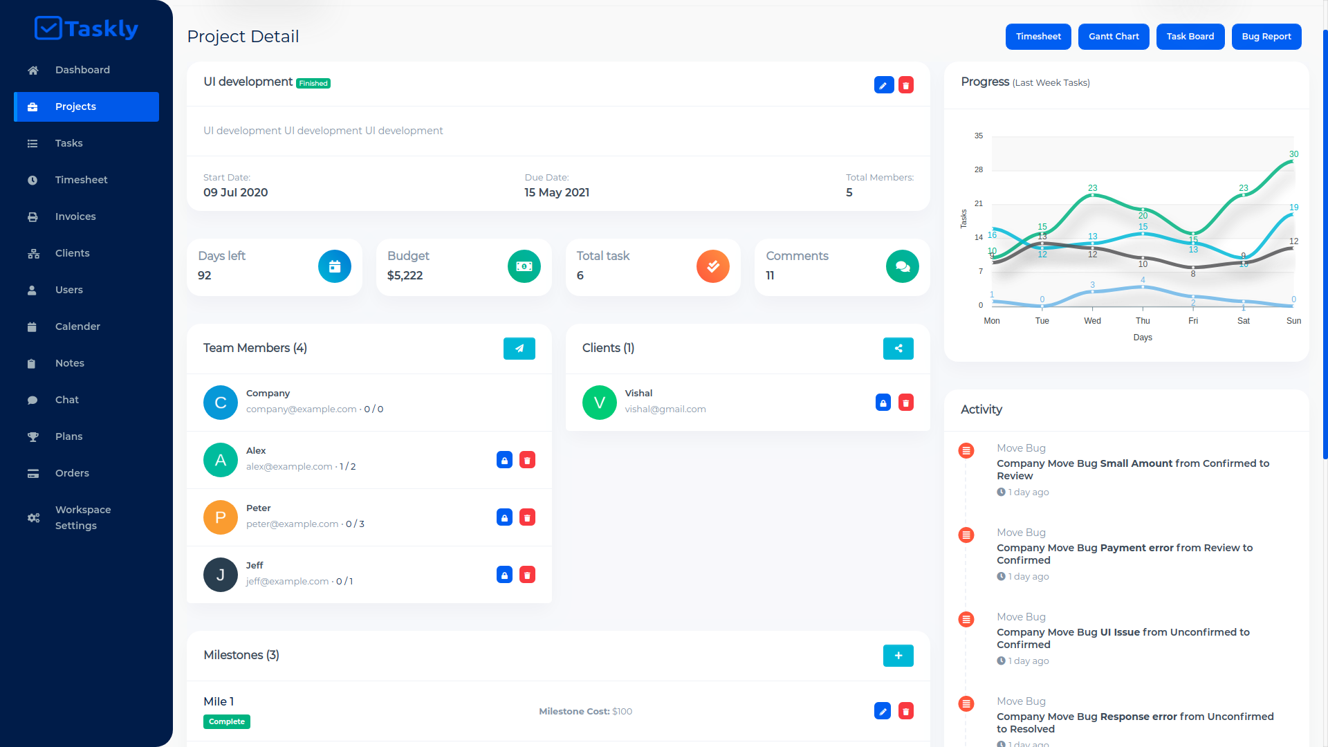 TASKLY SaaS – Project Management Tool - 7