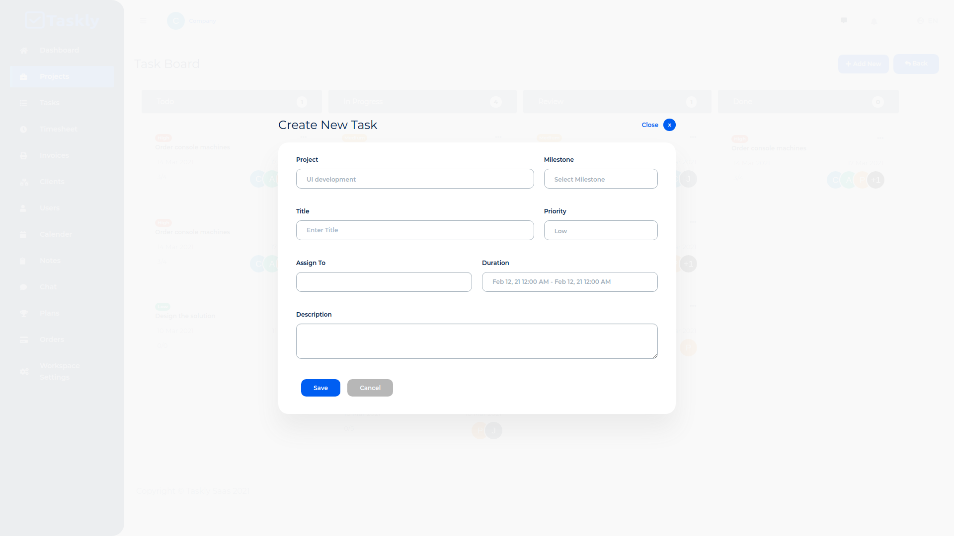 TASKLY SaaS – Project Management Tool - 10