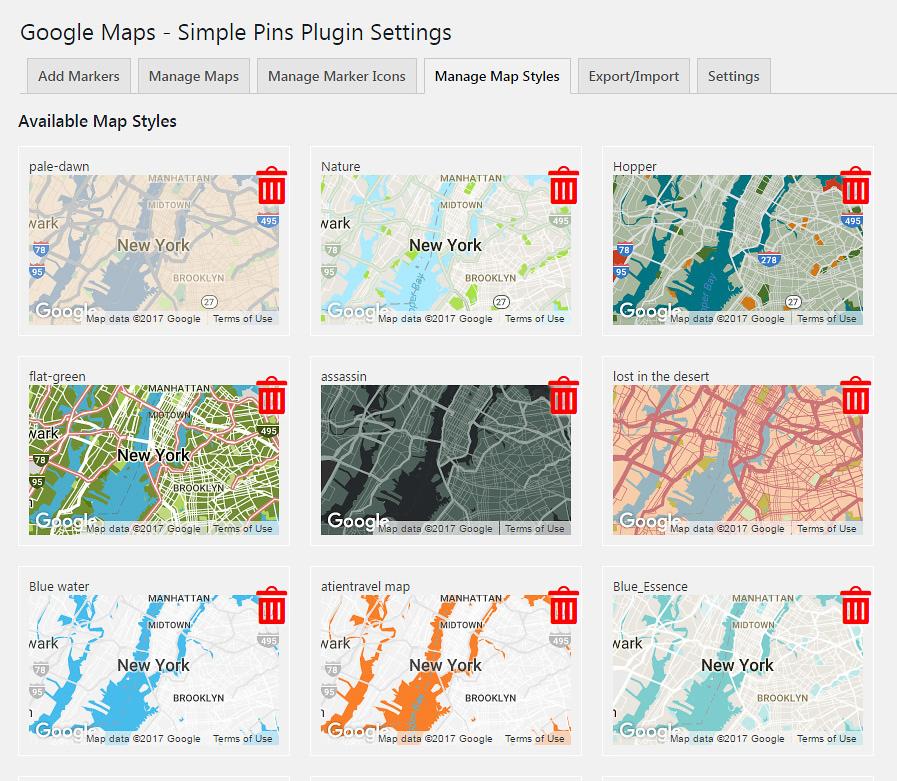 Google Maps - Simple Pins PRO - 5