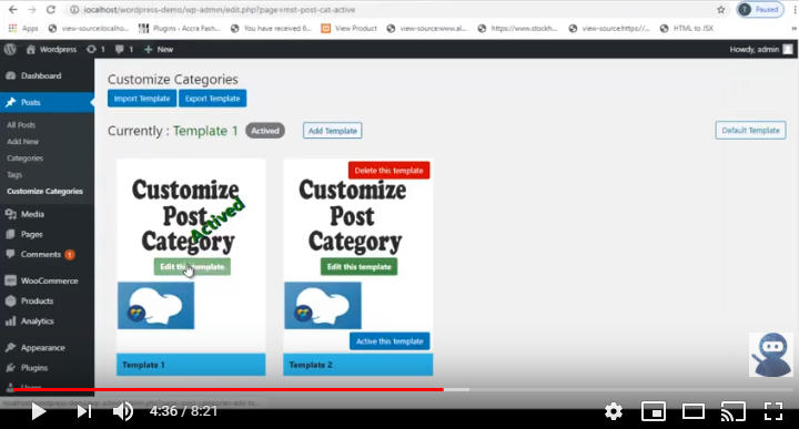 Customize Post Categories For WPBakery Page Builder (formerly Visual Composer) - 3