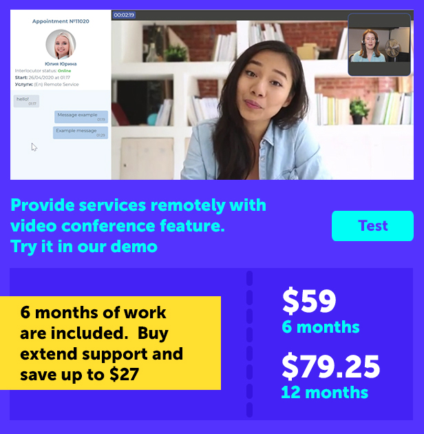Book an appointment online PRO - 5