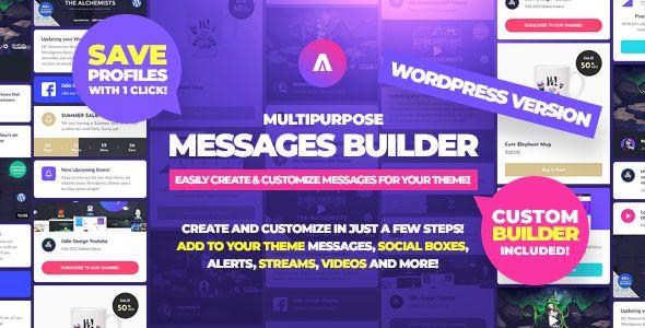 Asgard - Social Media Alerts & Feeds WordPress Builder - Facebook, Instagram, Twitch and more! - 8