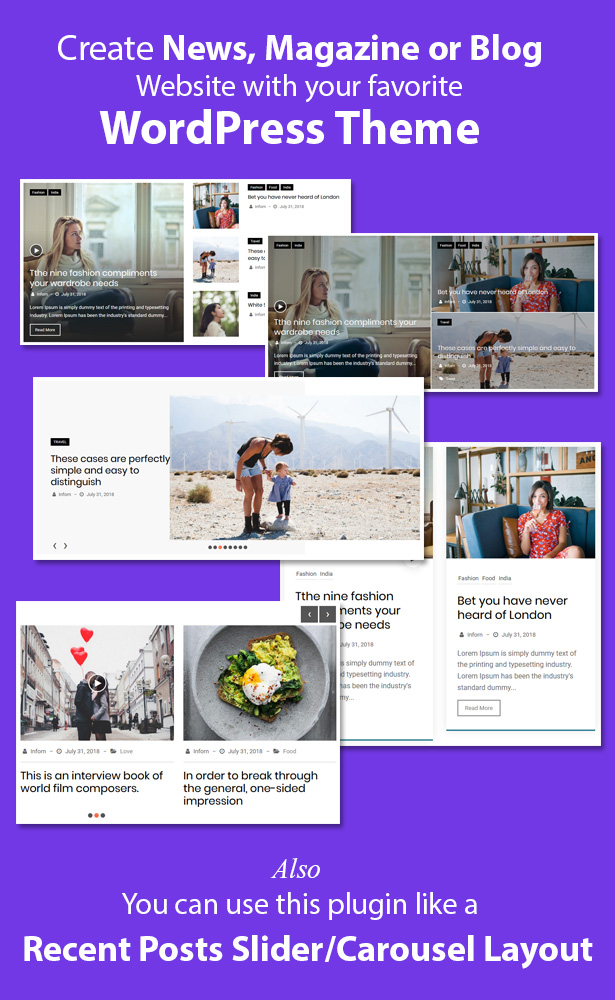 News & Blog Designer Pack Pro - News and Blog Plugin for WordPress and Elementor - 6