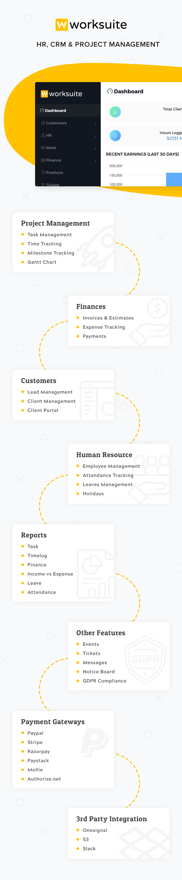 Worksuite Saas - Project Management System - 8