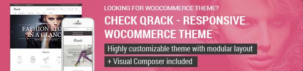 Qrack Woocommerce Theme
