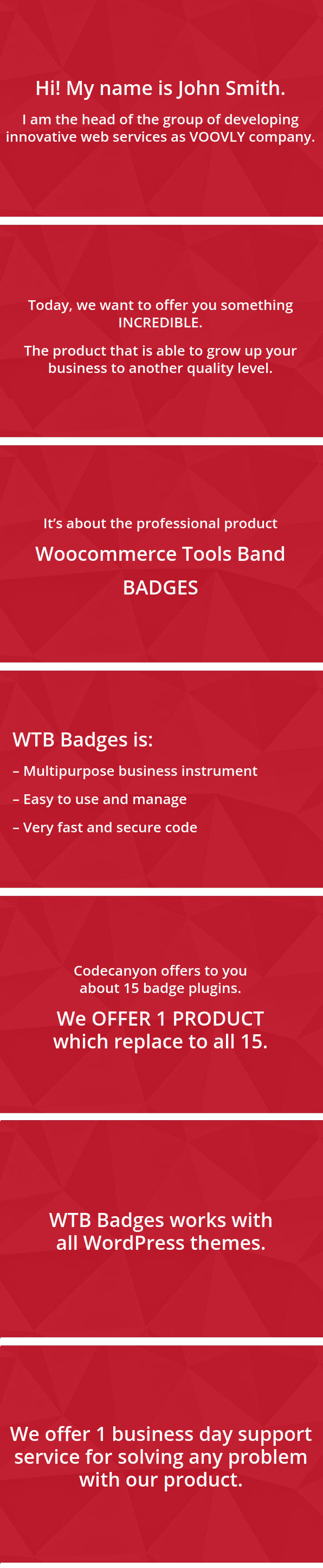 Woocommerce Tools Band: Badges + extra tools for PRO Sellers - 1