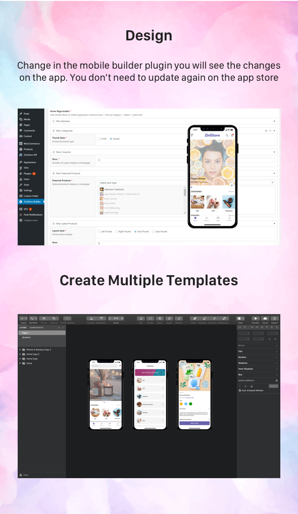 ZiniStore - Full React Native Service App for Woocommerce - 5