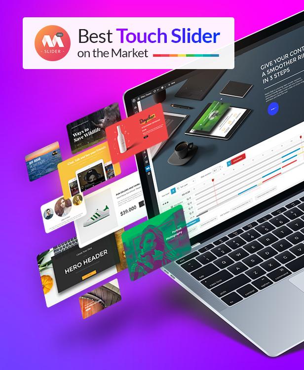 Master Slider - Touch Layer Slider WordPress Plugin - 1
