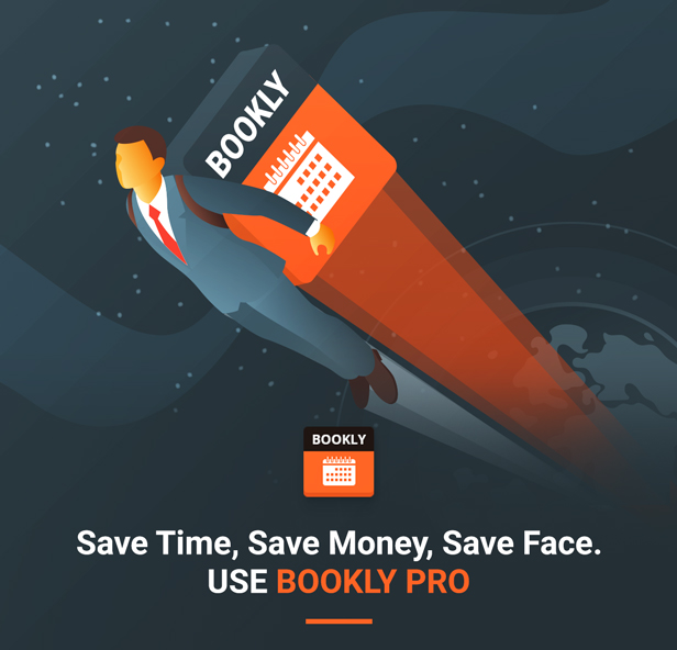 Bookly PRO –Appointment Booking and Scheduling Software System - 4