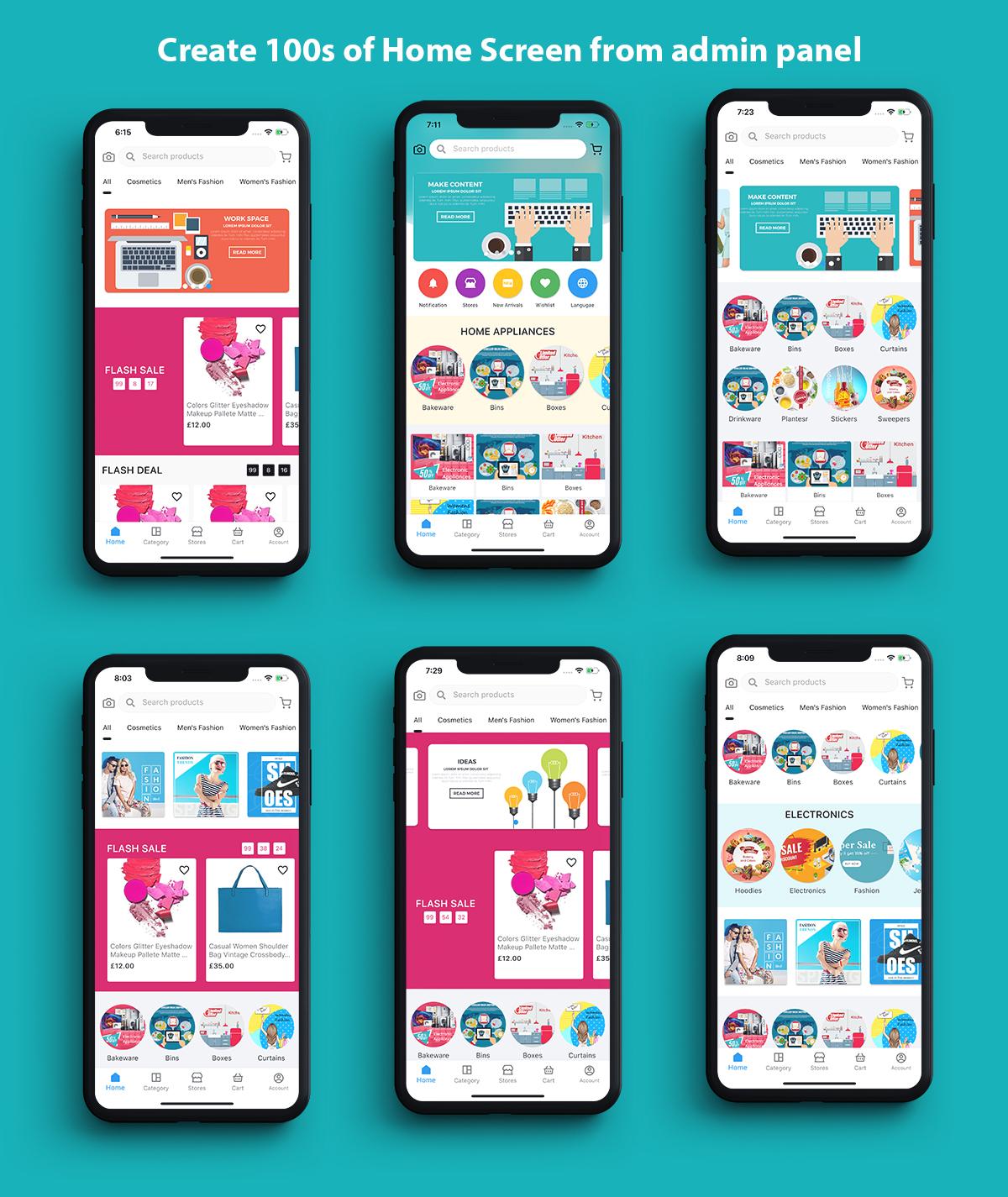 Flutter app for woocommerce - 2