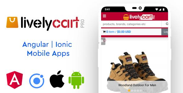 LivelyCart PRO - Laravel E-Commerce Platform   Shopping Cart - 2