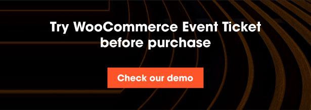Woocommerce Event Ticket - 3