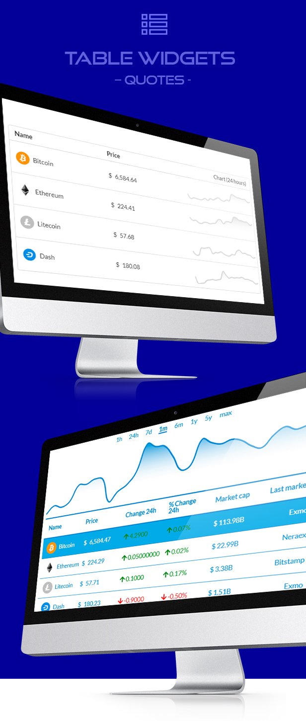Premium Cryptocurrency Widgets | WordPress Crypto Plugin - 7