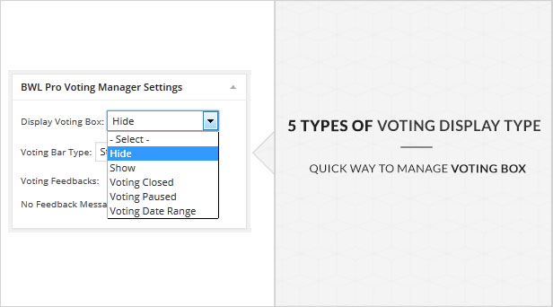 BWL Pro Voting Manager - 24