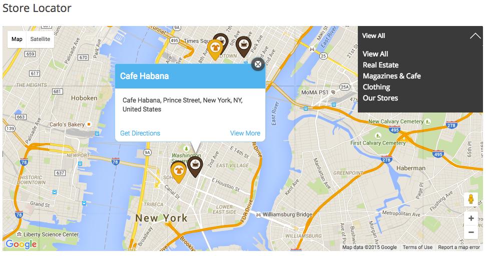 WooCommerce Maps Store Locator