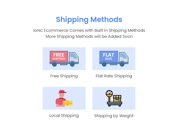 Ionic5 Ecommerce - Universal iOS & Android Ecommerce / Store Full Mobile App with Laravel CMS - 17