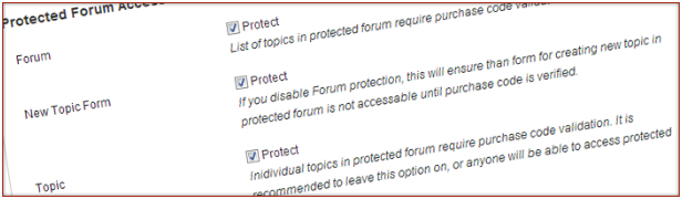 Control how forums restrictions are applied