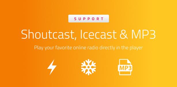 Ultimate Radio Player WordPress Plugin - 7