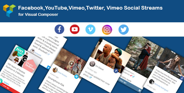 WPBakery Page Builder - Social Stream